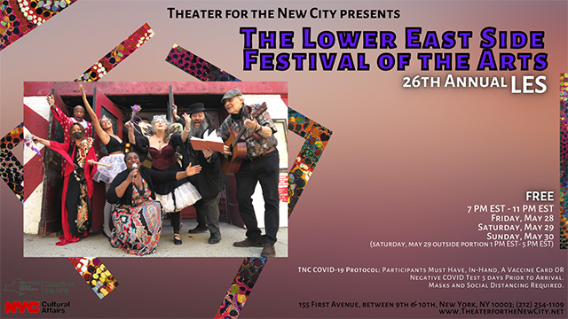 26th Annual Lower East Side Festival of the Arts
